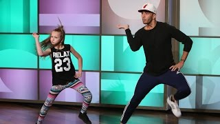 Ellen's Astounding Anaconda Dancer(She's only 11 years old, but she can really bust a move! Ellen had a very talented young dancer and her choreographer perform on the show., 2014-10-01T21:00:03.000Z)