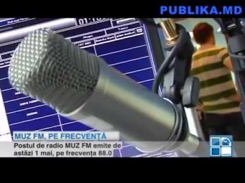 MUZ FM - Un nou post de radio în Moldova