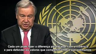 Secretary-General WHD message - Portuguese