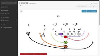 Youth Football Reverse Trick Play