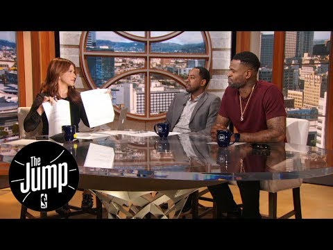 The Jump reacts to questionable early NBA All-Star Game voting trends | The Jump | ESPN