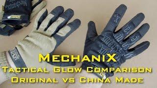Перчатки Mechanix. Оригинал vs Китай. Сравнительный обзор