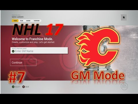 Clearing Cap Space and Free Agency - NHL 17 GM Mode Commentary - Calgary #6