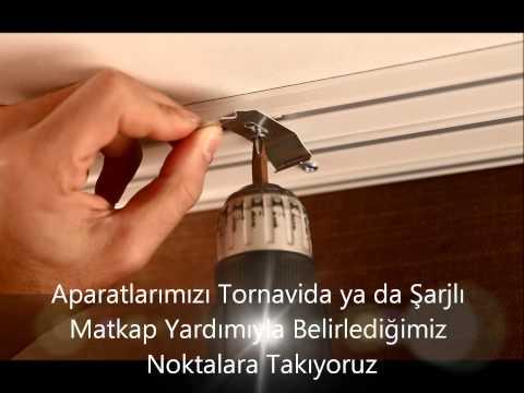 İkili Stor Perde Montajı - PerdeSepeti.com.tr