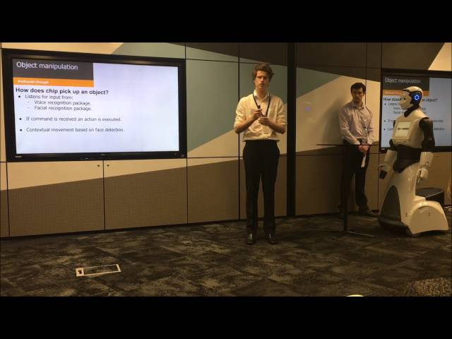 Curtin Teams Presentation in the CBA Robotics Program
