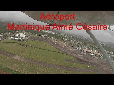 Tour de la Martinique en avion
