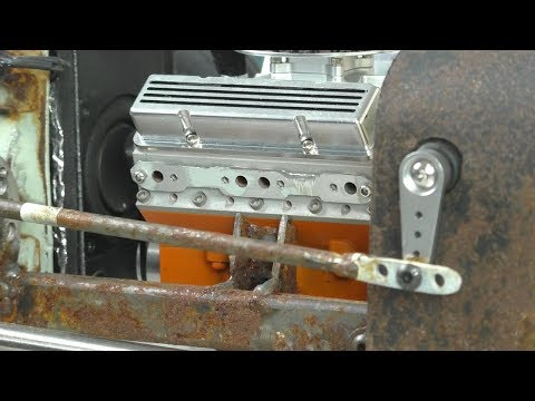 Rust Never Sleeps (part 45) RC Rat Rod charity auction build for Cancer Society NZ.