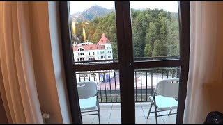 Завтрак в отеле AZIMUT Отель Freestyle Роза Хутор 3 Отели курорта Роза Хутор