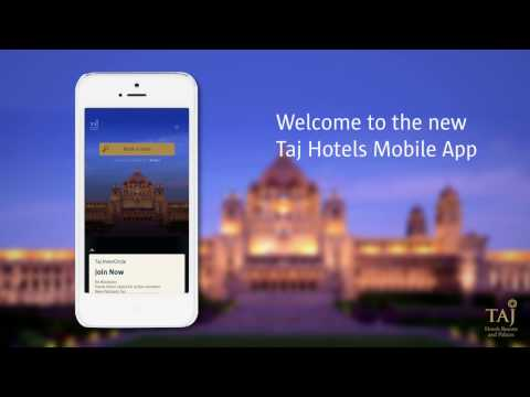 Welcome to the New Taj Hotels Mobile App