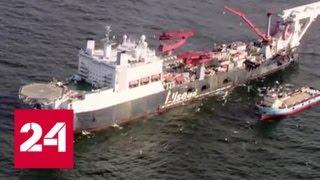 """В Финляндии начались работы по укладке """"Северного потока-2"""" - Россия 24"""