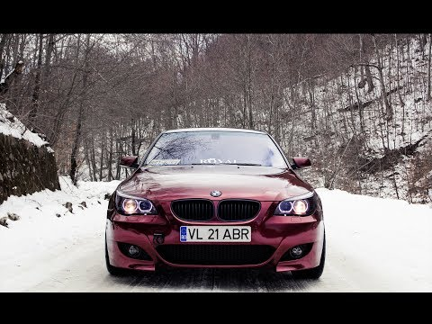 The Red Beast - BMW E60 - Winter
