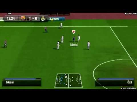 Фифа 13 псп FIFA 2013 PSP видео обзор gameplay HD