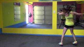 move like jagger ( Zumba fitness warm up)