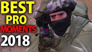 Скачать CS GO BEST PRO MOMENTS 2018 Flickshots Crazy Clutches Inhuman Reactions ACEs Best Frags