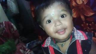 Funny little boy Marathi video