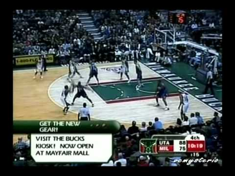 Michael Redd 57pts vs. Jazz (11.11.2006)-42pts in the 2nd half