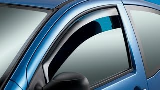 Side Window Deflectors - Presented by Andys Auto Sport
