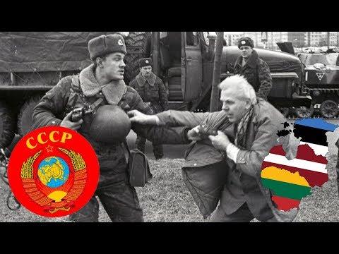ПРИСОЕДИНЕНИЕ ЛИТВЫ К СССР. Как это было? Версия СССР. Архив.