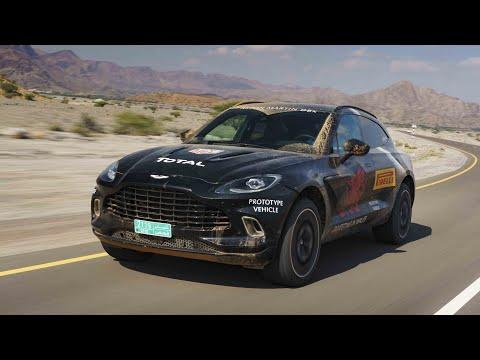 Aston Martin DBX (2020) : au volant du 1er prototype