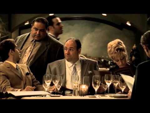 Dinner after the crash - The Sopranos S5E5