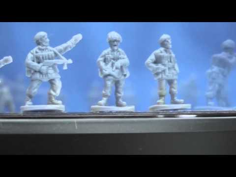 The Plastic Solider Company's 15mm Russian Infantry & British Paratroopers