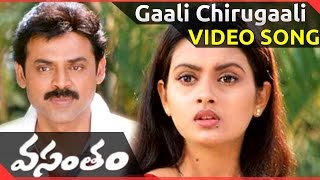 Gaali Chirugaali Video Song || Vasantam Movie || Venkatesh, Kalyani