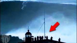 SCARIEST Waves Ever Caught on Camera