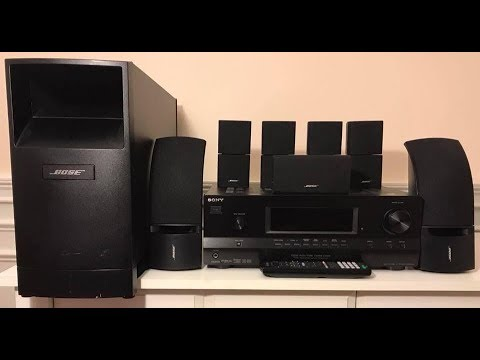 How to install a Bose Acoustim TO A SONY RECEIVER Home theater system Kenwood Av Wiring Diagram With Bose Surround Sound on