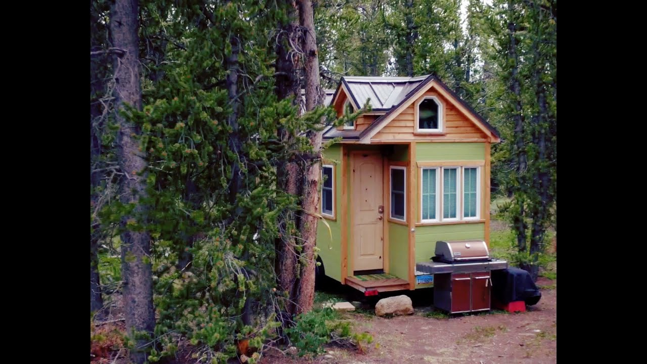 Fairplay Tiny House In The Colorado Wilderness YouTube