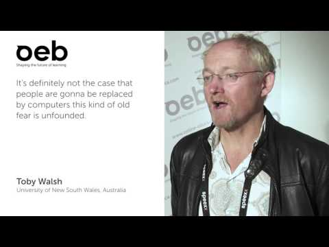 OEB 2015 – Interview with Toby Walsh