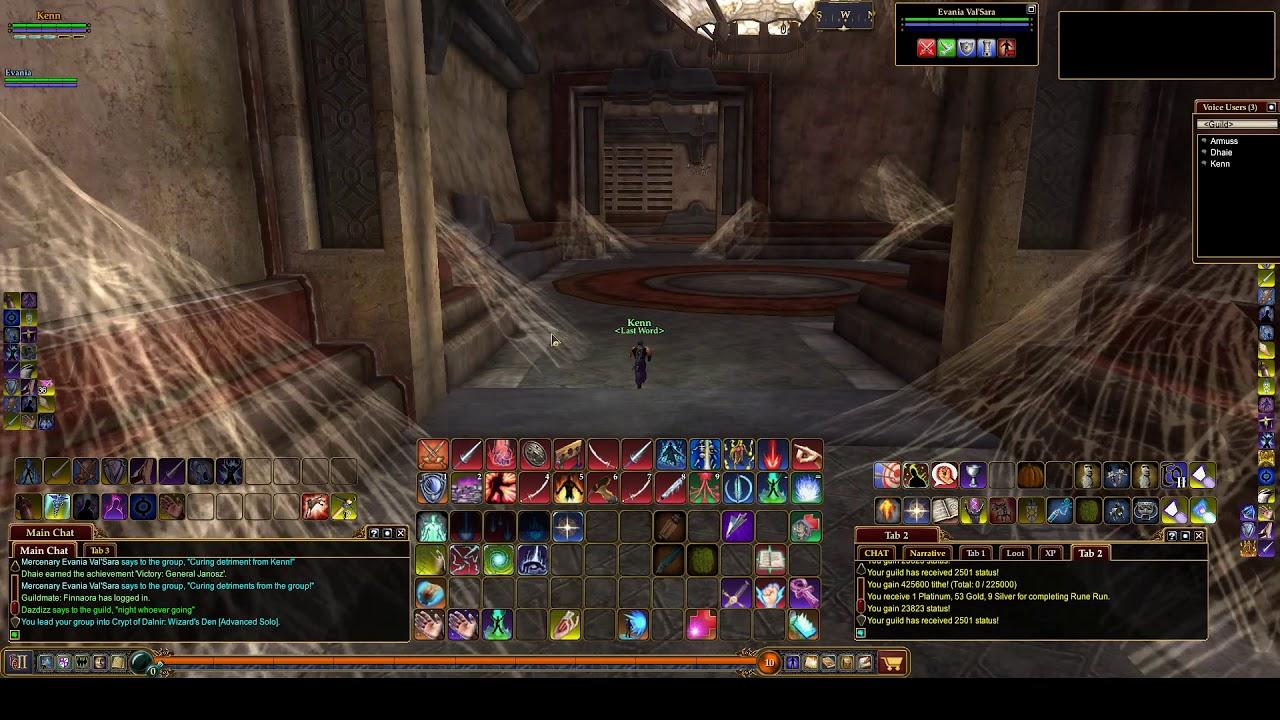 EQ2 -- Crypt of Dalnir: Wizard's Den[Advanced Solo]
