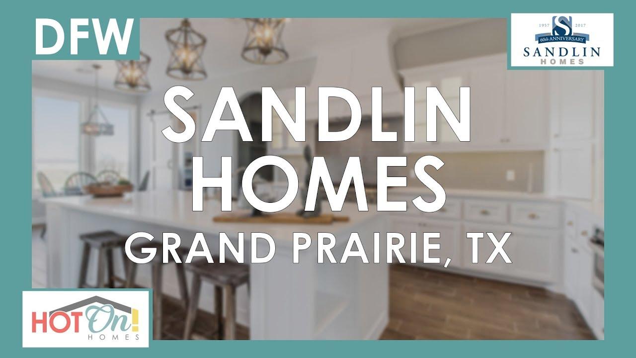 sandlin homes at westchester crossing in grand prairie tx youtube