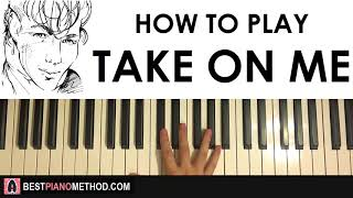 Baixar HOW TO PLAY - A-ha - TAKE ON ME (Piano Tutorial Lesson)