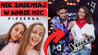NIE ZMIENIAJ W SOBIE NIC - Carla Fernandes & Magda Bereda