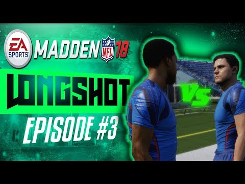 I GOT A RIVAL AND A GIRLFRIEND! | Madden 18 Longshot Gameplay Storymode #3
