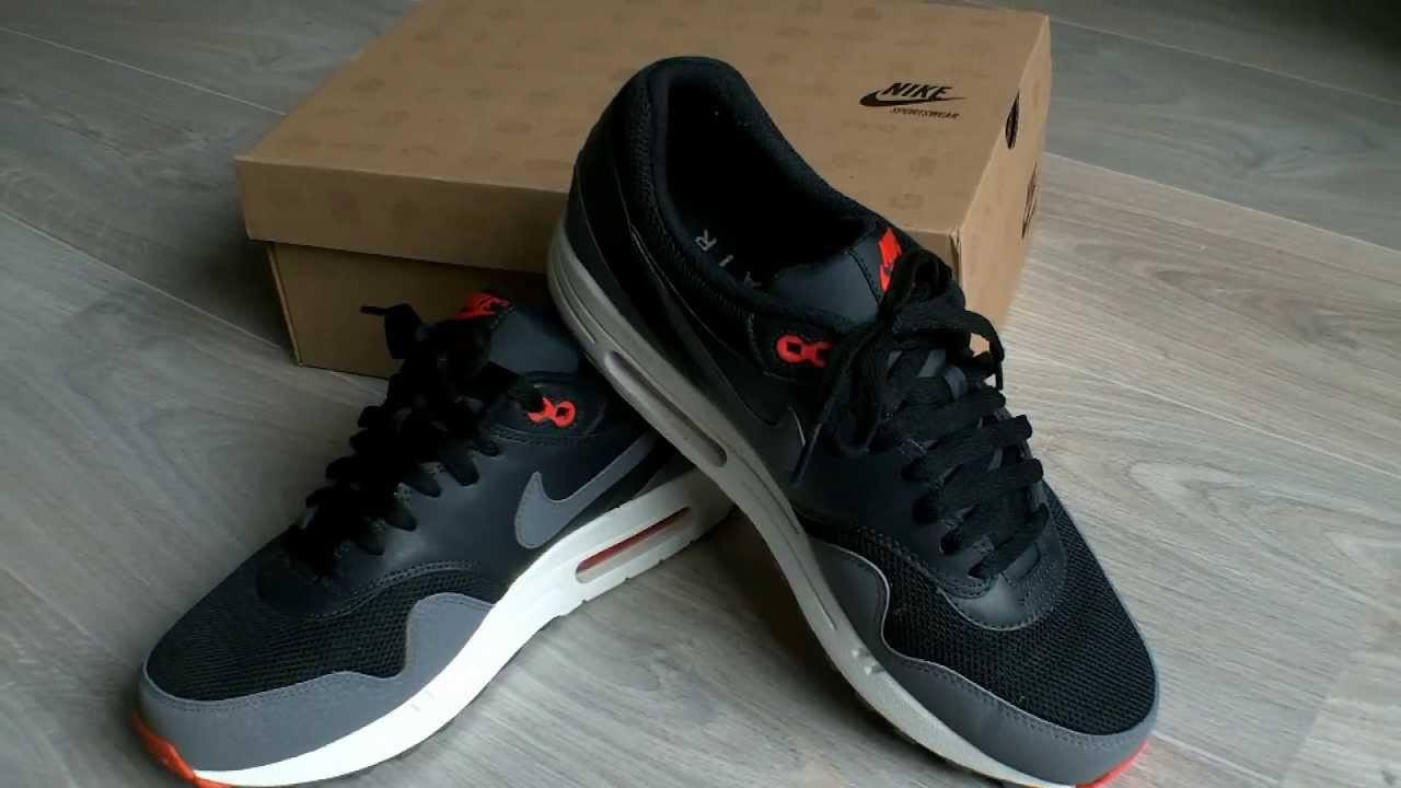 Nike Air Max 1 Black And Grey