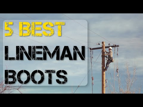 5 Best Lineman Boots to Work Safely