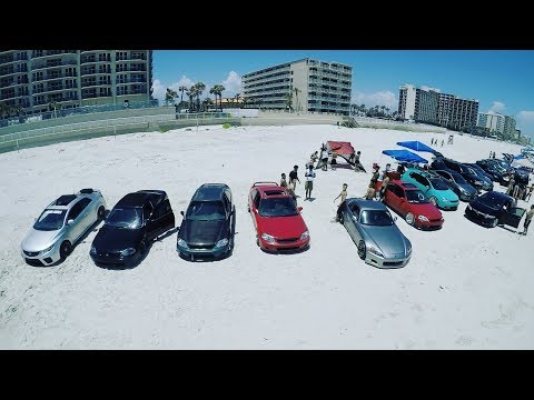 JDM Beach Day  //  Daytona Beach  //  Drone 4K // 5/20/2017