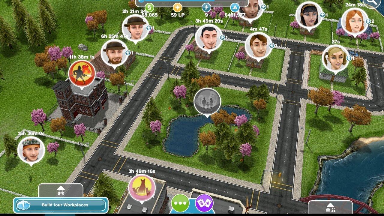 تحميل لعبة the sims مهكرة للاندرويد