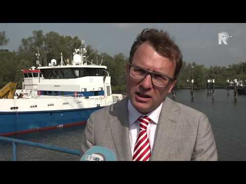 Damen Shipyards in Gorinchem houdt al bijna een eeuw stand