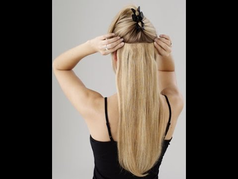Clip hair extensions uk