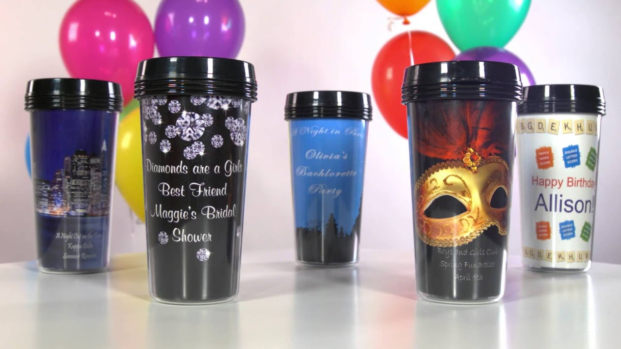 custom personalized travel mug shindiqz party favors youtube