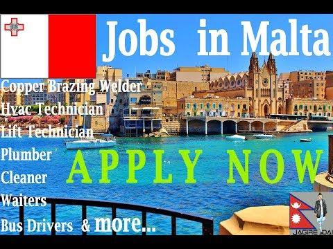 Jobs In Malta Europe