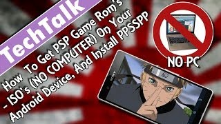 How To Get PSP Game Rom