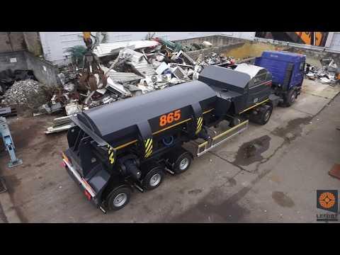 LEFORT scrap metal baler P120