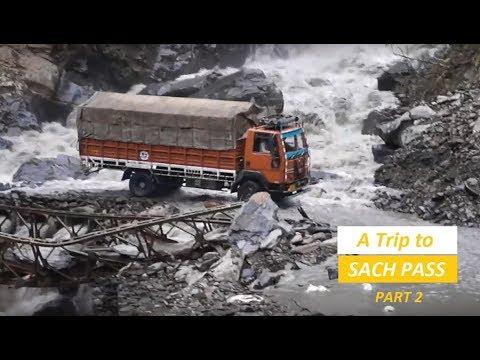 Drive To Sach Pass_Part -2 Killar-Pangi-Rohtang Pass Dangerous Roads Of Himachal