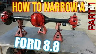 TFS: How to Narrow a Ford 8.8 Part 1 - Strip Down