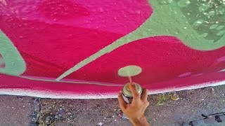 Graffiti - Rake43 - Watermelon