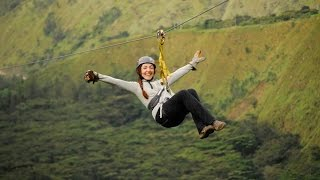 Zipline over Peru