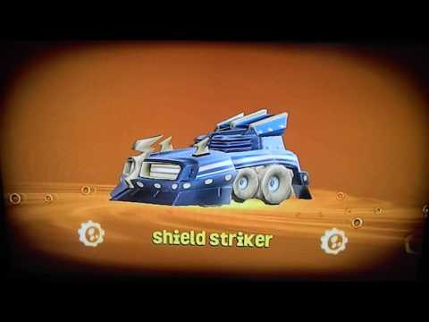 All Land Skylander Vehicles in SuperChargers Racing
